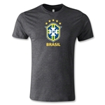 Brazil Men's Fashion T-Shirt (Dark Gray)
