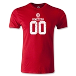Bayern Munich Distressed 1900 Men's Fashion T-Shirt (Red)