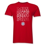 Bayern Munich Mia San Mia Men's Fashion T-Shirt (Red)