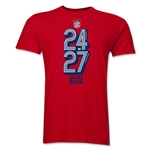 Bayern Munich 2014 Champions Men's Fashion T-Shirt (Red)