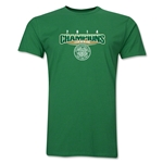 Celtic 2014 Champions Men's Fashion T-Shirt (Green)
