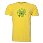 Celtic Distressed Men's Fashion T-Shirt (Yellow)