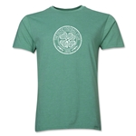 Celtic Distressed Men's Fashion T-Shirt (Heather Green)