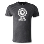 Chelsea Football Club Logo Men's Fashion T-Shirt (Dark Gray)