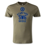 Stamford Bridge Logo Men's Fashion T-Shirt (Dark Green)