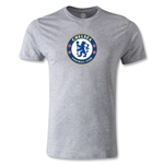 Chelsea Crest Men's Fashion T-Shirt (Gray)