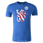 Chelsea Graphic Men's Fashion T-Shirt (Royal)