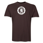 Chelsea Emblem Men's Fashion T-Shirt (Brown)