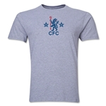 Chelsea Retro Men's Fashion T-Shirt (Gray)