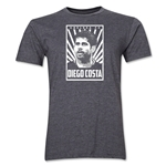 Chelsea Diego Costa Player T-Shirt (Dark Grey)