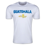 CONCACAF Gold Cup 2015 Guatemala Big Logo Men's Fashion T-Shirt (White)