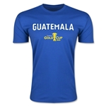 CONCACAF Gold Cup 2015 Guatemala Big Logo Men's Fashion T-Shirt (Royal)