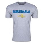 CONCACAF Gold Cup 2015 Guatemala Big Logo Men's Fashion T-Shirt (Grey)