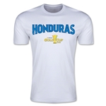CONCACAF Gold Cup 2015 Honduras Big Logo Men's Fashion T-Shirt (White)