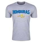 CONCACAF Gold Cup 2015 Honduras Big Logo Men's Fashion T-Shirt (Grey)
