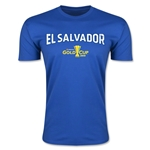 CONCACAF Gold Cup 2015 El Salvador Big Logo Men's Fashion T-Shirt (Royal)