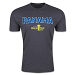 CONCACAF Gold Cup 2015 Panama Big Logo Men's Fashion T-Shirt (Dark Grey)