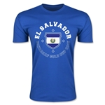 CONCACAF Gold Cup 2015 El Salvador Men's Fashion T-Shirt (Royal)