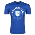 CONCACAF Gold Cup 2015 Guatemala Men's Fashion T-Shirt (Royal)