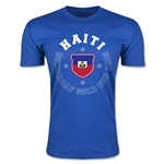 CONCACAF Gold Cup 2015 Haiti Men's Fashion T-Shirt (Royal)