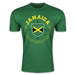 CONCACAF Gold Cup 2015 Jamaica Men's Fashion T-Shirt (Green)