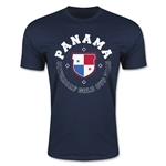 CONCACAF Gold Cup 2015 Panama Men's Fashion T-Shirt (Navy)