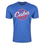 CONCACAF Gold Cup 2015 Cuba Men's Fashion T-Shirt (Heather Royal)