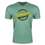 CONCACAF Gold Cup 2015 Jamaica Men's Fashion T-Shirt (Heather Green)