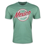 CONCACAF Gold Cup 2015 Mexico Men's Fashion T-Shirt (Heather Green)