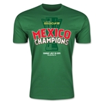 Mexico Gold Cup Celebration Men's Fashion T-Shirt (Green)
