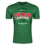 Mexico Gold Cup Celebration Spanish Men's Fashion T-Shirt (Green)