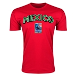 Mexico CONCACAF 2015 Men's Olympic Qualifying Men's Fashion T-Shirt (Red)