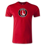 Charlton Athletic Crest Men's Fashion T-Shirt (Red)