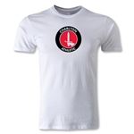 Charlton Athletic Crest Men's Fashion T-Shirt (White)