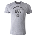 Charleston Battery Est.1993 Men's Fashion T-Shirt (Gray)