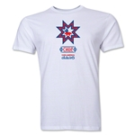 Chile Copa America 2015 Banderas Men's Fashion T-Shirt (White)