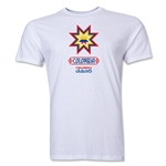 Colombia Copa America 2015 Banderas Men's Fashion T-Shirt (White)