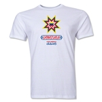 Venezuela Copa America 2015 Banderas Men's Fashion T-Shirt (White)