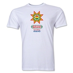 Bolivia Copa America 2015 Banderas Men's Fashion T-Shirt (White)