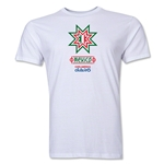 Mexico Copa America 2015 Banderas Men's Fashion T-Shirt (White)