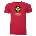 Jamaica Copa America 2015 Banderas Men's Fashion T-Shirt (Heather Red)