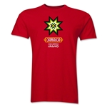 Jamaica Copa America 2015 Banderas Men's Fashion T-Shirt (Red)
