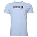 Copa America 2015 Core Landscape Men's Fashion T-Shirt (Sky)