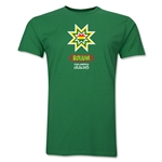 Bolivia Copa America 2015 Banderas Men's Fashion T-Shirt (Green)