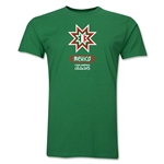 Mexico Copa America 2015 Banderas Men's Fashion T-Shirt (Green)