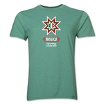 Mexico Copa America 2015 Banderas Men's Fashion T-Shirt (Heather Green)