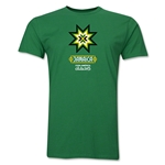 Jamaica Copa America 2015 Banderas Men's Fashion T-Shirt (Green)
