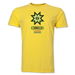Jamaica Copa America 2015 Banderas Men's Fashion T-Shirt (Yellow)