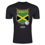 Jamaica Copa America 2015 Badge Fashion T-Shirt (Black)