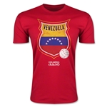 Venezuela Copa America 2015 Badge Fashion T-Shirt (Red)